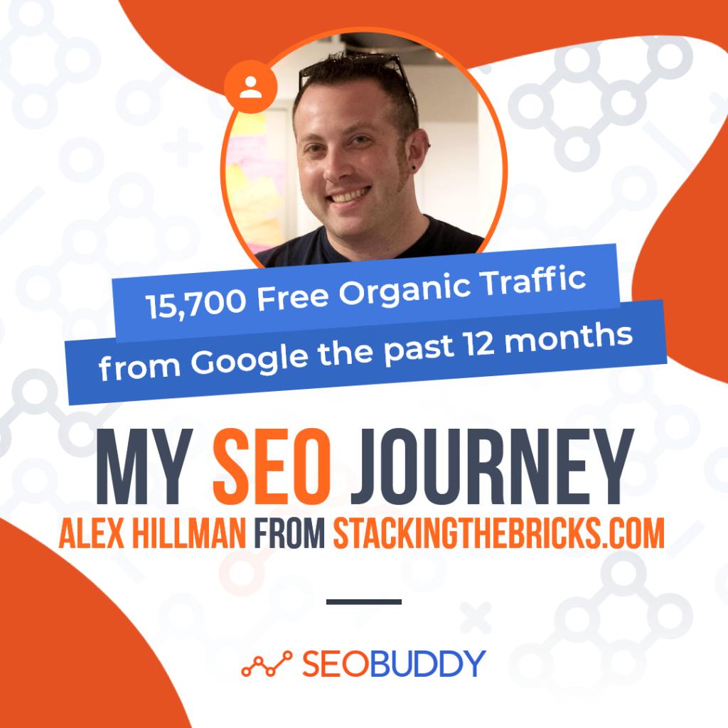 Alex Hillman from stackingthebricks.com share his SEO journey