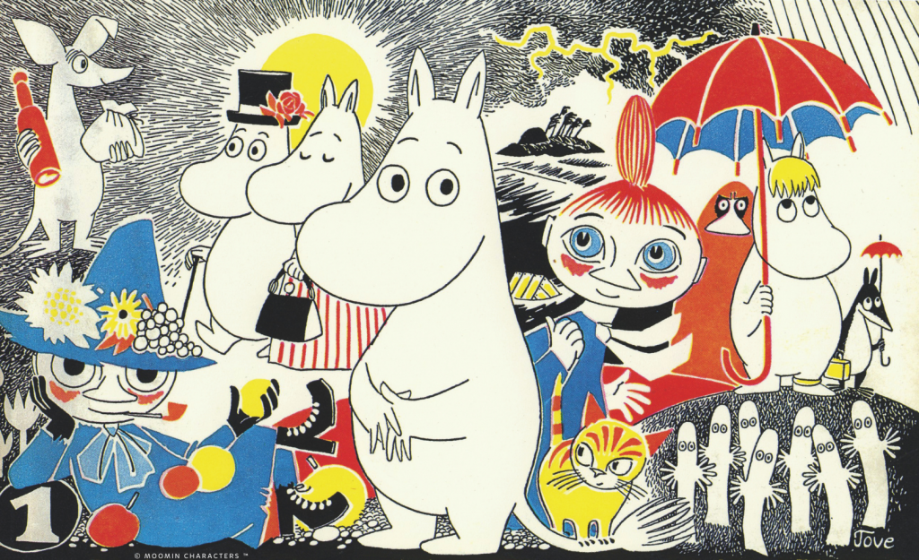Moomins Characters by Tove Jansson