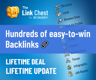 The Link Chest by SEO Buddy
